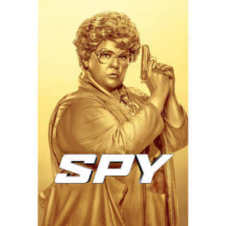 SPY (UNRATED) (2015 MELISSA MCCARTHY) (HD DIGITAL CODE) VUDU, ITUNES, MOVIESANYWHERE INSTANT DELIVERY