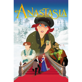 ANASTASIA (1997) (HD DIGITAL CODE) VUDU, ITUNES, MOVIESANYWHERE INSTANT DELIVERY