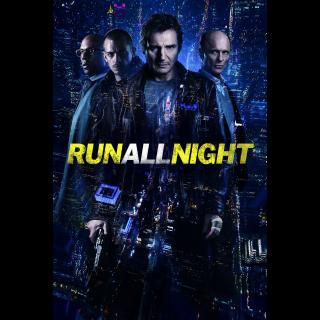 RUN ALL NIGHT (2015 LIAM NEESON) (HD DIGITAL CODE) VUDU, MOVIESANYWHERE INSTANT DELIVERY