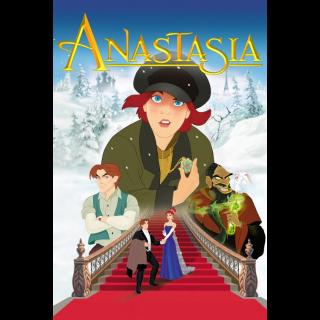 ANASTASIA (1997) (HD DIGITAL CODE) VUDU, ITUNES, MOVIESANYWHERE