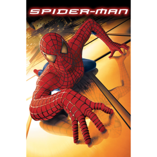 SPIDER-MAN (2002) (HD DIGITAL CODE) VUDU, MOVIESANYWHERE INSTANT DELIVERY