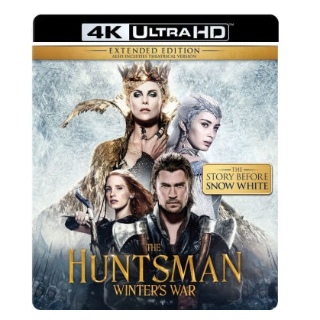 THE HUNTSMAN WINTER'S WAR (SNOW WHITE 2) (4K ULTRA HD UHD DIGITAL CODE) ITUNES INSTANT DELIVERY