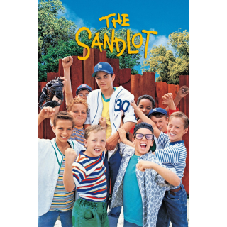THE SANDLOT (4K UHD DIGITAL CODE) ITUNES, MOVIESANYWHERE INSTANT DELIVERY