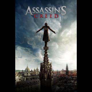 Assassin's Creed (2016) 4K UHD DIGITAL CODE (ITUNES)