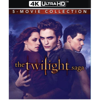 THE TWILIGHT COMPLETE SAGA COLLECTION 1-5  EXTENDED EDITIONS (4K ULTRA HD DIGITAL CODE) ITUNES INSTANT DELIVERY