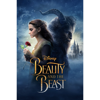 DISNEY BEAUTY AND THE BEAST (2017 LIVE ACTION) HD DIGITAL CODE (VUDU, MOVIESANYWHERE, ITUNES)