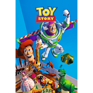 DISNEY PIXAR TOY STORY 1 (4K UHD DIGITAL CODE) VUDU, MOVIESANYWHERE INSTANT DELIVERY