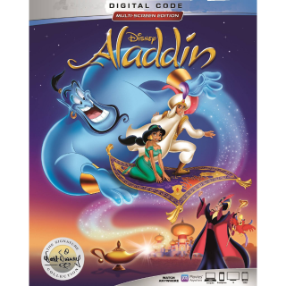 DISNEY ALADDIN (1992) SIGNATURE COLLECTION (HD DIGITAL CODE) GOOGLE PLAY INSTANT DELIVERY
