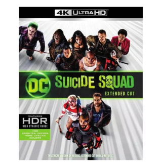 DCEU SUICIDE SQUAD EXTENDED CUT (2016) (4K ULTRA HD UHD DIGITAL CODE) VUDU, MOVIESANYWHERE INSTANT DELIVERY