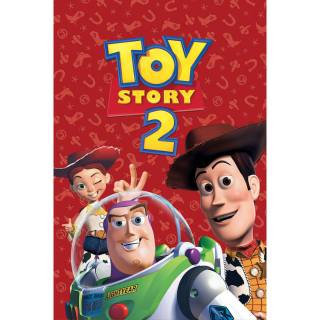 DISNEY PIXAR TOY STORY 2 (4K UHD DIGITAL CODE) VUDU, MOVIESANYWHERE INSTANT DELIVERY