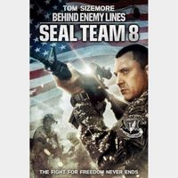 SEAL TEAM EIGHT 8 BEHIND ENEMY LINES (HD DIGITAL CODE) VUDU, MOVIESANYWHERE INSTANT DELIVERY