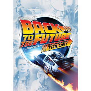 BACK TO THE FUTURE 1 2 3 TRILOGY (HD DIGITAL CODE) MOVIESANYWHERE INSTANT DELIVERY