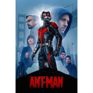 MARVEL STUDIOS ANT-MAN (HD DIGITAL CODE) ITUNES, VUDU, MOVIESANYWHERE INSTANT DELIVERY ANTMAN