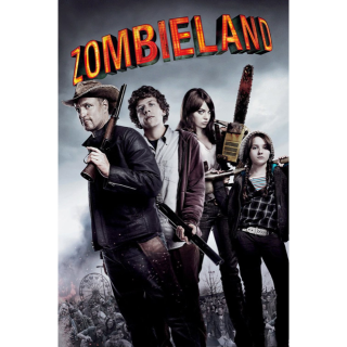 ZOMBIELAND (HD DIGITAL CODE) VUDU, MOVIESANYWHERE INSTANT DELIVERY