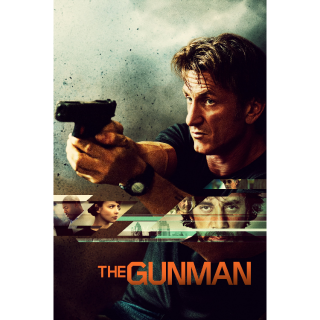 THE GUNMAN (2015 SEAN PENN) (HD DIGITAL CODE) ITUNES INSTANT DELIVERY