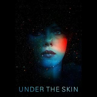 UNDER THE SKIN (2013 SCARLETT JOHANNSSON) (HD DIGITAL CODE) VUDU, FANDANGO NOW INSTANT DELIVERY