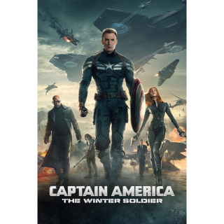 Captain America: The Winter Soldier 4K UHD DIGITAL CODE (VUDU, MOVIESANYWHERE + DMR)