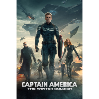 CAPTAIN AMERICA THE WINTER SOLDIER (HD DIGITAL CODE) (VUDU, MOVIESANYWHERE , ITUNES INSTANT DELIVERY)