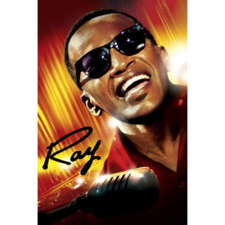 RAY (2004 JAMIE FOXX RAY CHARLES) (HD DIGITAL CODE) ITUNES INSTANT DELIVERY