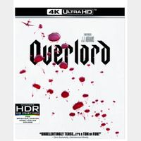 OVERLORD (J.J. ABRAMS) (4K UHD DIGITAL CODE) ITUNES INSTANT DELIVERY