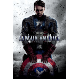 CAPTAIN AMERICA THE FIRST AVENGER (HD DIGITAL CODE) (VUDU, MOVIESANYWHERE ITUNES INSTANT DELIVERY)
