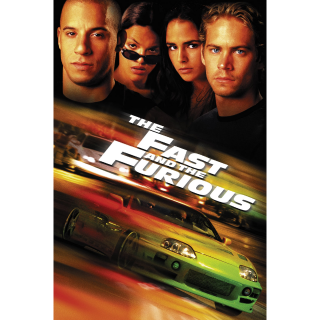 THE FAST AND THE FURIOUS 1 (2001) 4K DIGITAL CODE (ITUNES)