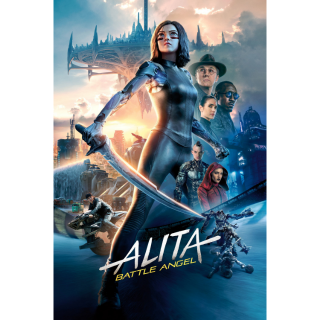 ALITA: BATTLE ANGEL 2019 (4K UHD DIGITAL CODE) GOOGLE PLAY INSTANT DELIVERY