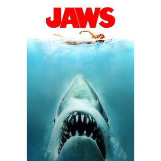 STEVEN SPIELBERG'S JAWS (1975) (HD DIGITAL CODE) ITUNES INSTANT DELIVERY