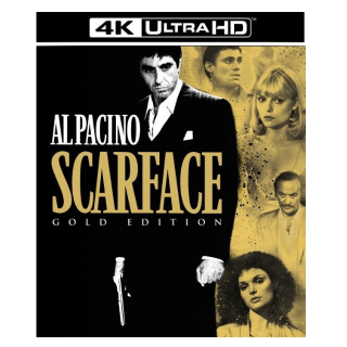 SCARFACE (1983) (4K ULTRA HD UHD DIGITAL CODE) ITUNES ONLY INSTANT DELIVERY
