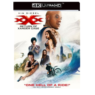 XXX RETURN OF XANDER CAGE (VIN DIESEL) (4K ULTRA HD UHD DIGITAL CODE) ITUNES ONLY INSTANT DELIVERY
