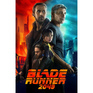 Blade Runner 2049 (2017 SEQUEL) HD DIGITAL CODE (VUDU, MOVIES ANYWHERE)