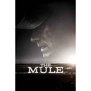 THE MULE (CLINT EASTWOOD) (4K UHD DIGITAL CODE) VUDU, MOVIESANYWHERE INSTANT DELIVERY