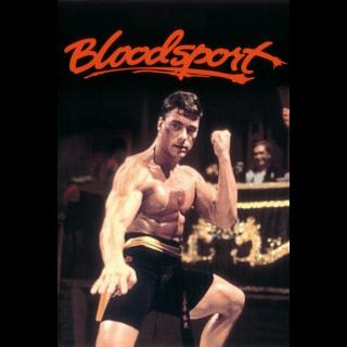 BLOODSPORT (1988) JEAN-CLAUDE VAN DAMME (HD DIGITAL CODE) ITUNES INSTANT DELIVERY