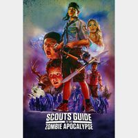 SCOUTS GUIDE TO THE ZOMBIE APOCALYPSE (HD DIGITAL CODE) ITUNES INSTANT DELIVERY