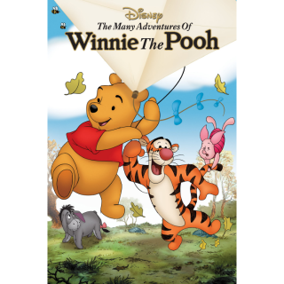 DISNEY THE MANY ADVENTURES OF WINNIE THE POOH (HD DIGITAL CODE) VUDU, MOVIESANYWHERE INSTANT DELIVERY
