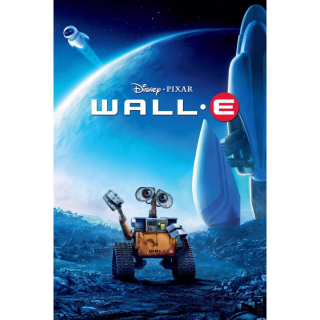 DISNEY PIXAR WALL-E WALLE (HD DIGITAL CODE) ITUNES, VUDU, MOVIESANYWHERE INSTANT DELIVERY