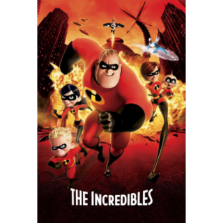 DISNEY THE INCREDIBLES 1 (2004) (HD DIGITAL CODE) VUDU, MOVIESANYWHERE