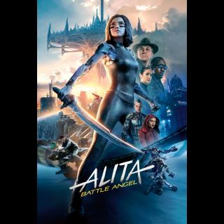 ALITA: BATTLE ANGEL 2019 (4K UHD DIGITAL CODE) VUDU, MOVIESANYWHERE
