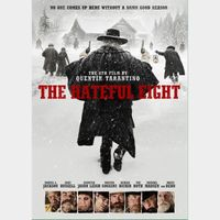 QUENTIN TARANTINO'S THE HATEFUL EIGHT 8 (HD DIGITAL CODE) VUDU, GOOGLE PLAY, FANDANGONOW INSTANT DELIVERY