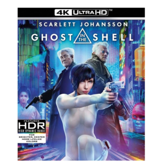 GHOST IN THE SHELL (2017) (4K ULTRA HD UHD DIGITAL CODE) ITUNES INSTANT DELIVERY
