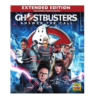 GHOSTBUSTERS ANSWER THE CALL (2016 EXTENDED EDITION) (HD DIGITAL CODE) VUDU, MOVIESANYWHERE INSTANT DELIVERY