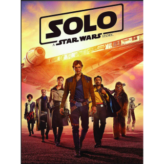 SOLO: A STAR WARS STORY (HD DIGITAL CODE) VUDU, ITUNES, MOVIESANYWHERE INSTANT DELIVERY