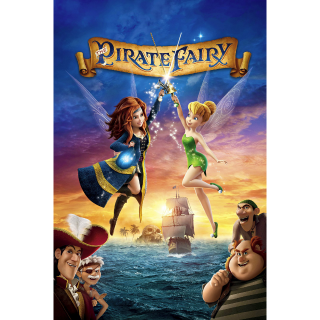 DISNEY TINKERBELL TINKER BELL AND THE PIRATE FAIRY (HD DIGITAL CODE) VUDU, ITUNES, MOVIESANYWHERE INSTANT DELIVERY