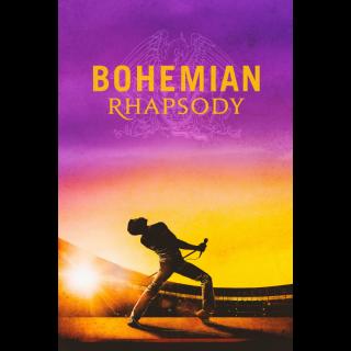 BOHEMIAN RHAPSODY (RAMI MALEK) (4K UHD DIGITAL CODE) GOOGLE PLAY INSTANT DELIVERY