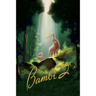 DISNEY BAMBI II 2 (HD DIGITAL CODE) VUDU, ITUNES, MOVIESANYWHERE