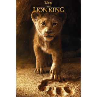 DISNEY THE LION KING (LIVE ACTION 2019) (HD DIGITAL CODE) ITUNES, VUDU, MOVIESANYWHERE INSTANT DELIVERY