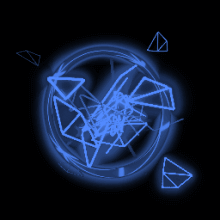 Fractal Fire | Cobalt