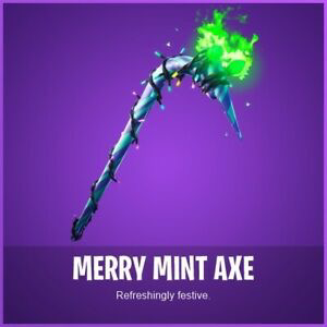 Code | Merry Minty Pickaxe