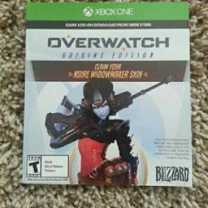 Overwatch Noire Widowmaker Pre Order Skin DLC Only (Xbox One)
