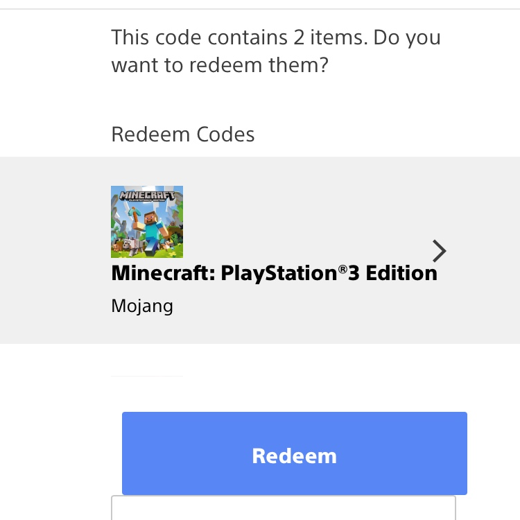 Minecraft Full Digital Game Code (PS3 & Vita) - PS3 Games - Gameflip